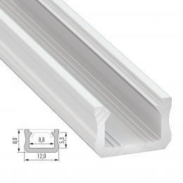 Perfíl Aluminio Tipo X 2,02M - Imagen 2