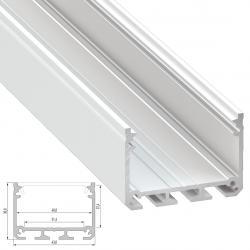 Perfil Aluminio Tipo iLEDO 2,02M - Imagen 1