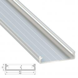 Perfil Aluminio Tipo SOLIS 2,02M - Imagen 1