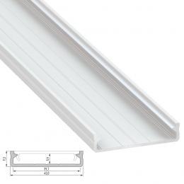 Perfil Aluminio Tipo SOLIS 2,02M - Imagen 2