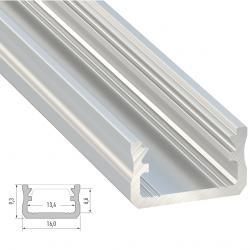 Perfíl Aluminio Tipo A 2,02M - Imagen 1
