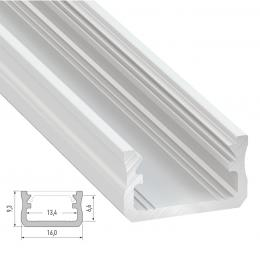 Perfíl Aluminio Tipo A 2,02M - Imagen 2