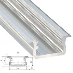 Perfíl Aluminio Tipo B 2,02M - Imagen 1