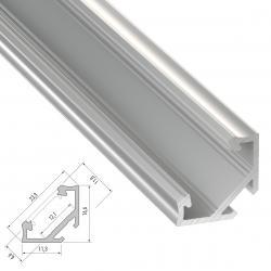 Perfíl Aluminio Tipo C 2,02M - Imagen 1