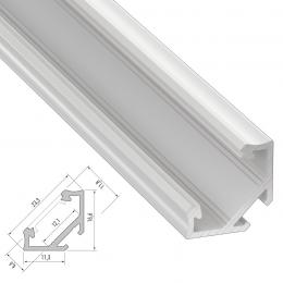 Perfíl Aluminio Tipo C 2,02M - Imagen 2