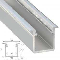 Perfíl Aluminio Tipo G 2,02M - Imagen 1