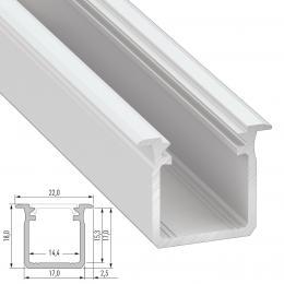 Perfíl Aluminio Tipo G 2,02M - Imagen 2