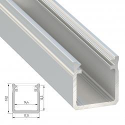 Perfíl Aluminio Tipo Y 2,02M - Imagen 1