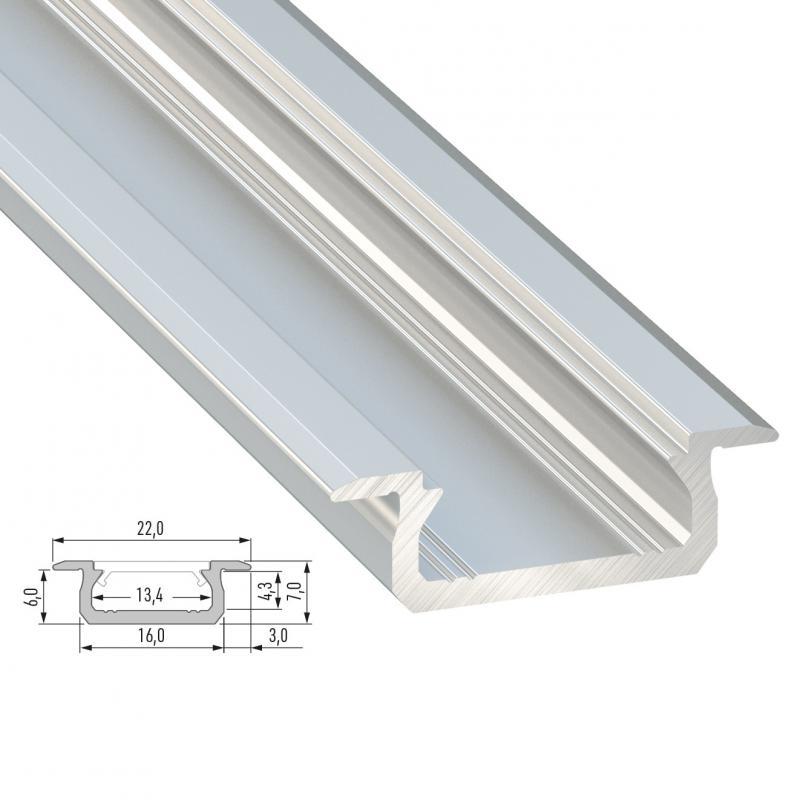 Perfíl Aluminio Tipo Z 2,02M - Imagen 1
