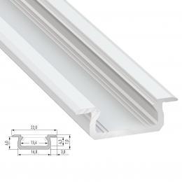 Perfíl Aluminio Tipo Z 2,02M - Imagen 2
