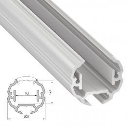 Perfíl Aluminio Tipo COSMO 2,02M - Imagen 2