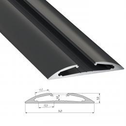 Perfíl Aluminio Tipo RETO 2,02M - Imagen 2