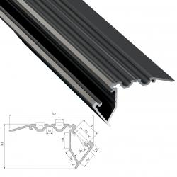 Perfíl Aluminio Tipo SCALA 2,02M - Imagen 1