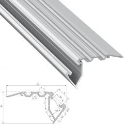 Perfíl Aluminio Tipo SCALA 2,02M - Imagen 2