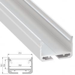 Perfíl Aluminio Tipo SILEDA 2,02M - Imagen 1