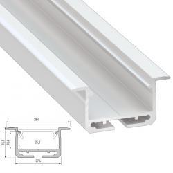 Perfíl Aluminio Tipo inSILEDA 2,02M - Imagen 1