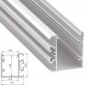 Perfil Aluminio Tipo UNICO 2,02M