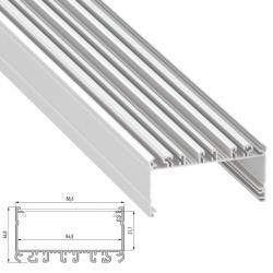 Perfil Aluminio Tipo LARGO 2,02M - Imagen 1