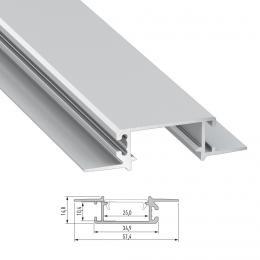 Perfíl Aluminio ZATI 2,02M - Imagen 2