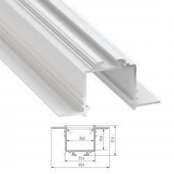Perfíl Aluminio SUBLI 2,02M - Imagen 1