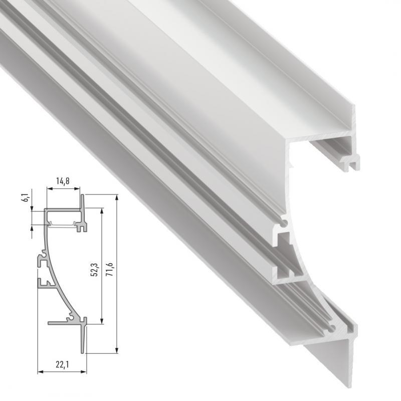 Perfíl Aluminio TIANO 2,02M - Imagen 1