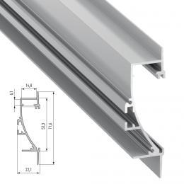 Perfíl Aluminio TIANO 2,02M - Imagen 2