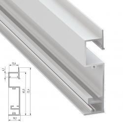 Perfíl Aluminio FLARO 2,02M - Imagen 1