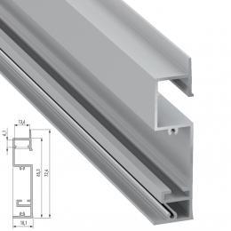 Perfíl Aluminio FLARO 2,02M - Imagen 2