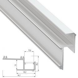Perfíl Aluminio IPA12 2,02M - Imagen 1