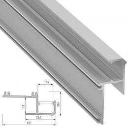Perfíl Aluminio IPA12 2,02M - Imagen 2