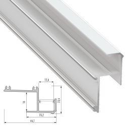 Perfíl Aluminio IPA16 2,02M