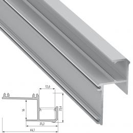Perfíl Aluminio IPA16 2,02M - Imagen 2