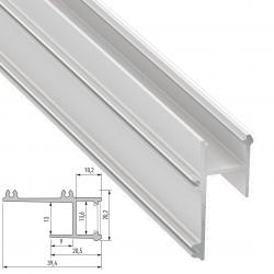 Perfíl Aluminio APA12 2,02M - Imagen 1