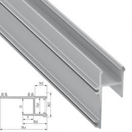 Perfíl Aluminio APA12 2,02M - Imagen 2