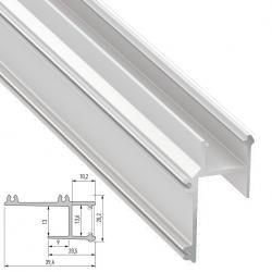 Perfíl Aluminio APA16 2,02M - Imagen 1