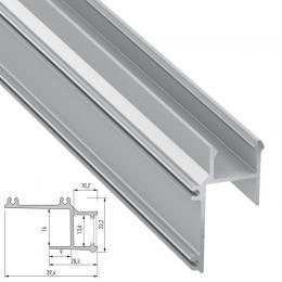 Perfíl Aluminio APA16 2,02M - Imagen 2