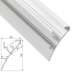 Perfíl Aluminio LOGI 2,02M - Imagen 1