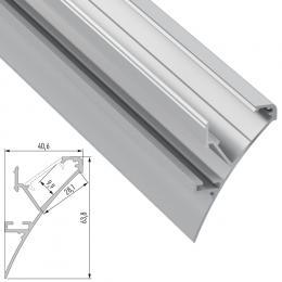 Perfíl Aluminio LOGI 2,02M - Imagen 2
