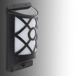 Aplique LED Solar IP65 Sensor Luz - Imagen 1