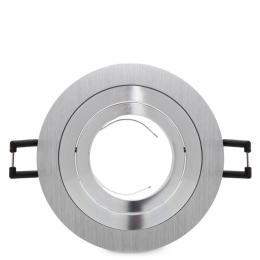 Foco Empotrar 1L Circular Aluminio - Imagen 2