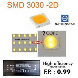 Farola LED NIZA SMD 3030 150W NATIONSTAR  70º-140º - Imagen 2