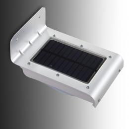 Aplique LED Solar IP65 16x2835SMD Sensor Luz + Movimiento - Imagen 2