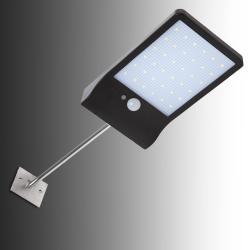 Aplique LED Solar IP65 36x2835SMD Sensor Luz + Movimiento Soporte