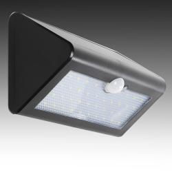 Aplique LED Solar IP65 38x2835SMD Sensor Luz + Movimiento