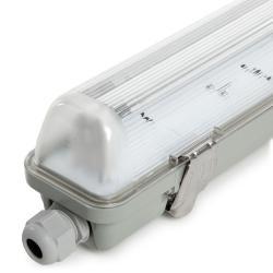 Equipo Estanco 1x18W Tubo LED 1270mm 1 Extremo - Imagen 1