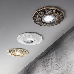 Luminaria Empotrada POLKA GU10 1 Luz (Sin Bombilla) - Imagen 2