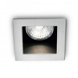 Luminaria Empotrada FUNKY GU10 1 Luz  (Sin Bombilla) - Imagen 1