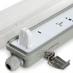 Equipo Estanco 1x9W Tubo LED 655mm 1 Extremo