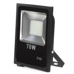 Foco Proyector LED SMD 70W Negro - Imagen 1