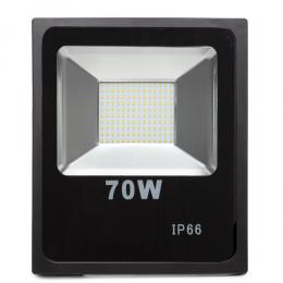 Foco Proyector LED SMD 70W Negro - Imagen 2